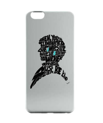 iPhone 6 Case & iPhone 6S Case | Sherlock Holmes Benedict Cumberbatch Typography Illustration with Motivational Quote  iPhone 6 | iPhone 6S Case Online India | PosterGuy
