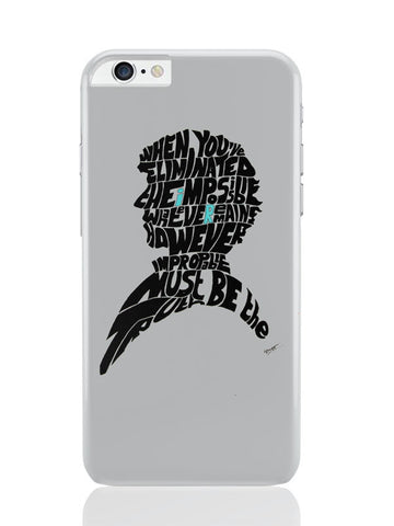 iPhone 6 Plus / 6S Plus Covers & Cases | Sherlock Holmes Benedict Cumberbatch Typography Illustration With Motivational Quote iPhone 6 Plus / 6S Plus Covers and Cases Online India