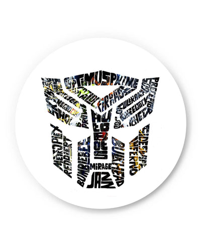 PosterGuy | Optimus Prime Inspired Autobot Transformers (Multicolored) Fridge Magnet Online India