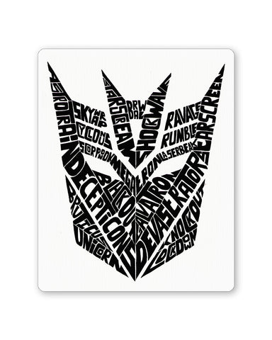 Mouse Pads | Decepticons Autobots Transformers Inspired Mouse Pad Online India | PosterGuy.in