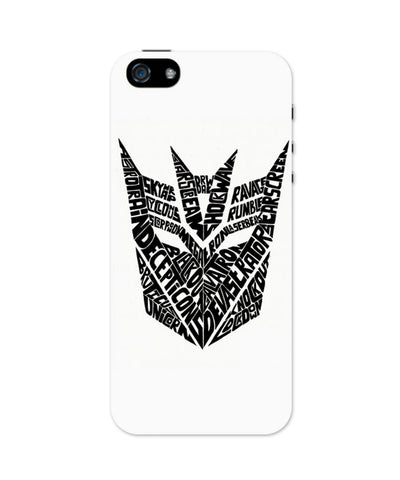 Decepticons Autobots Transformers Inspired iPhone 5 / 5S Case