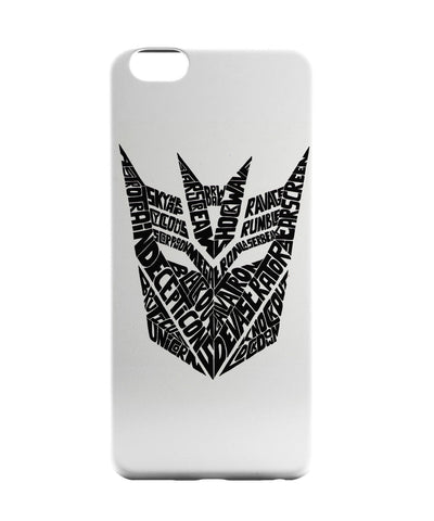 iPhone 6 Case & iPhone 6S Case | Decepticons | Transformers Inspired iPhone 6 | iPhone 6S Case Online India | PosterGuy