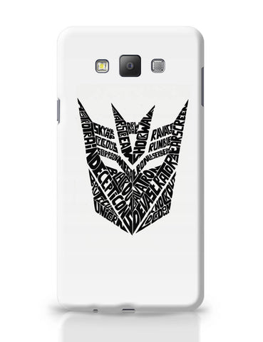 Samsung Galaxy A7 Covers | Decepticons Autobots Transformers Inspired Samsung Galaxy A7 Covers Online India