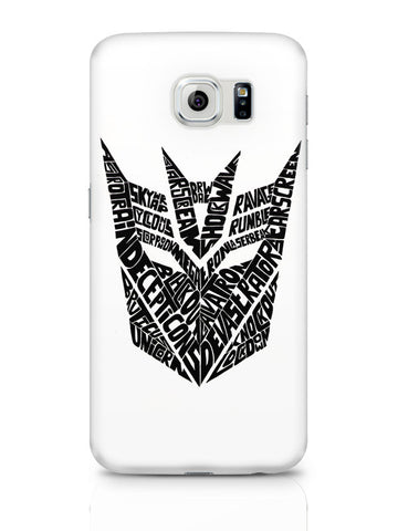 Samsung Galaxy S6 Covers & Cases | Decepticons Autobots Transformers Inspired Samsung Galaxy S6 Covers & Cases Online India