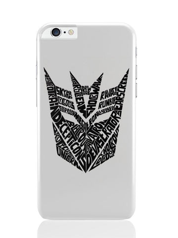 iPhone 6 Plus / 6S Plus Covers & Cases | Decepticons Autobots Transformers Inspired iPhone 6 Plus / 6S Plus Covers and Cases Online India