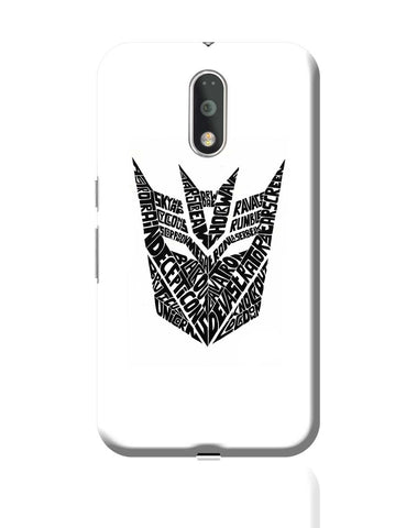 Decepticons Autobots Transformers Inspired Moto G4 Plus Online India