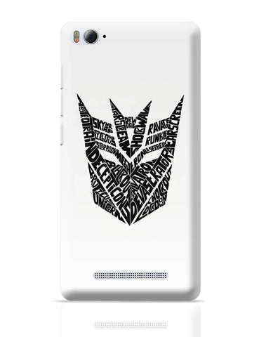 Xiaomi Mi 4i Covers | Decepticons Autobots Transformers Inspired Xiaomi Mi 4i Cover Online India