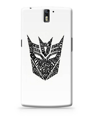 OnePlus One Covers | Decepticons Autobots Transformers Inspired OnePlus One Cover Online India