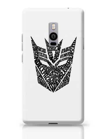 OnePlus Two Covers | Decepticons Autobots Transformers Inspired OnePlus Two Cover Online India