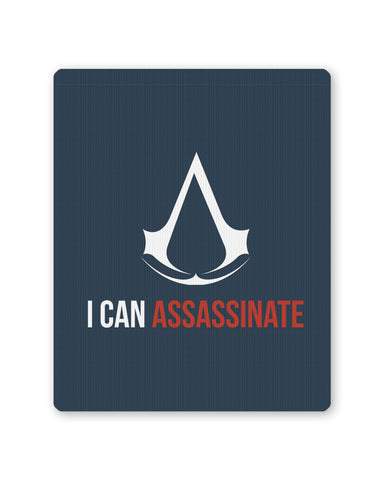Mouse Pads | I Can Assasinate Assasins Creed Mouse Pad Online India | PosterGuy.in