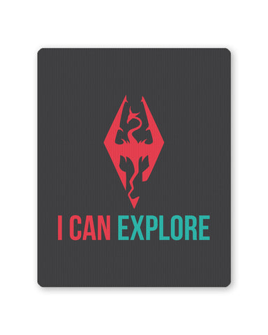 Mouse Pads | I Can Explore Mouse Pad Online India | PosterGuy.in