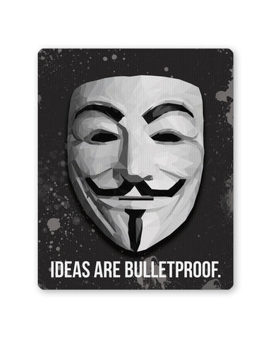 Mouse Pads | V for Vedetta Ideas are Bulletproof Mouse Pad Online India | PosterGuy.in