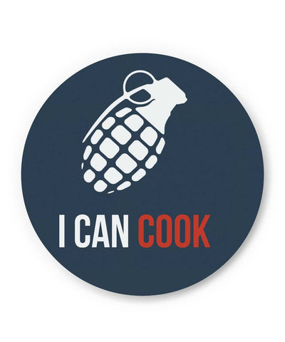 I Can Cook Fridge Magnet