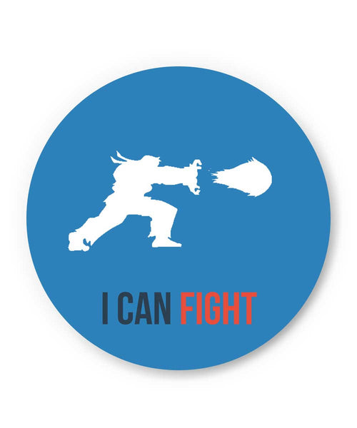I Can Fight Fridge Magnet