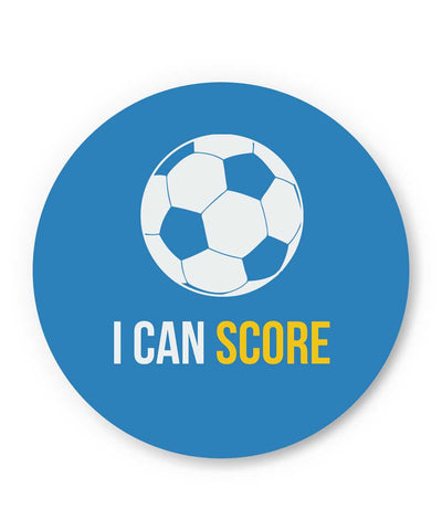 I Can Score Football Fridge Magnet