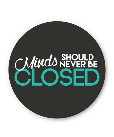 PosterGuy | Minds Should Never Be Closed Fridge Magnet 1243016019 Online India