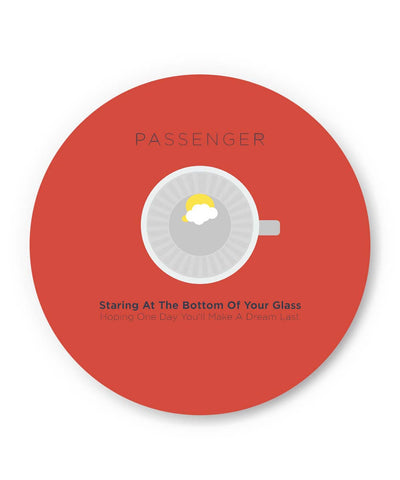 Coasters | Let Her Go Passenger Inspired Coaster 1243077319 Online India | PosterGuy.in