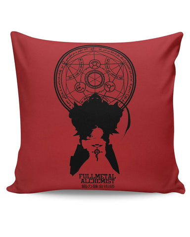 PosterGuy | Full Metal Alchemist Shadow Cushion Cover Online India