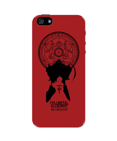 iPhone 5 / 5S Cases| Full Metal Alchemist Shadow iPhone 5 / 5S Case Online India