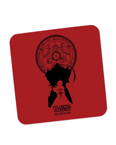 Coasters | Full Metal Alchemist Shadow Coaster 1243118329 Online India | PosterGuy.in