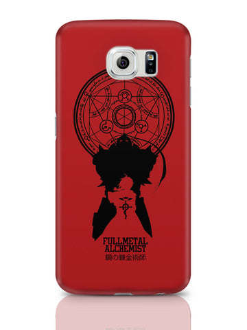 Samsung Galaxy S6 Covers & Cases | Full Metal Alchemist Shadow Samsung Galaxy S6 Covers & Cases Online India