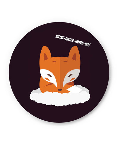 PosterGuy | What Does The Fox Say Song | Hatee Hatee Fridge Magnet 1243128319 Online India
