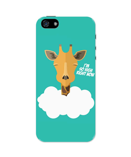iPhone 5 / 5S Cases| I'm So High Right Now | Giraffe iPhone 5 / 5S Case Online India