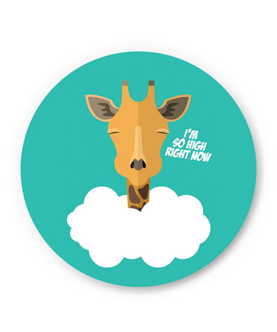 PosterGuy | I'm So High Right Now | Giraffe Fridge Magnet 1243138319 Online India