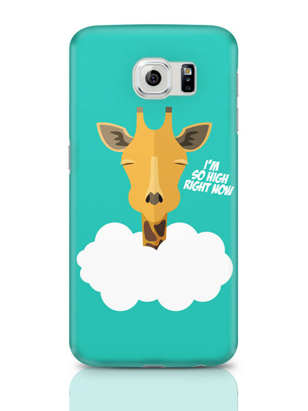 Samsung Galaxy S6 Covers & Cases | I'M So High Right Now | Giraffe Samsung Galaxy S6 Covers & Cases Online India