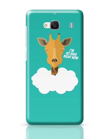Xiaomi Redmi 2 / Redmi 2 Prime Cover| I'm So High Right Now | Giraffe Redmi 2 / Redmi 2 Prime Cover Online India