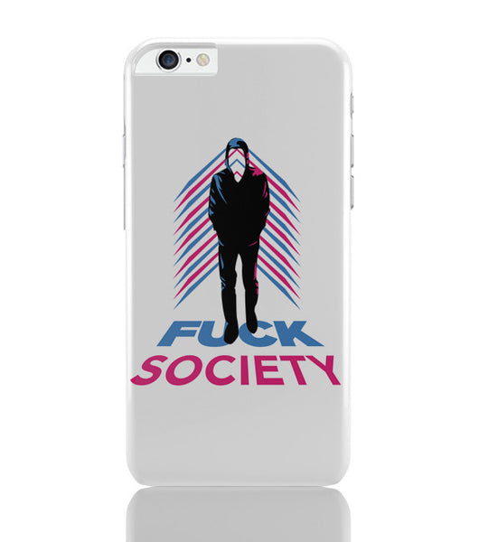 iPhone 6 Plus/iPhone 6S Plus Covers | Fuck Society Mr. Robot Inspired Art iPhone 6 Plus / 6S Plus Covers Online India