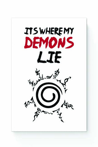 Posters Online | It'S Where My Demons Lie | Imagine Dragons Poster Online India | Designed by: Rohit Malhotra