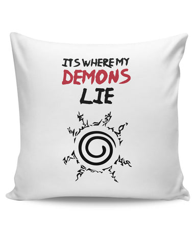 PosterGuy | It'S Where My Demons Lie | Imagine Dragons Cushion Cover Online India