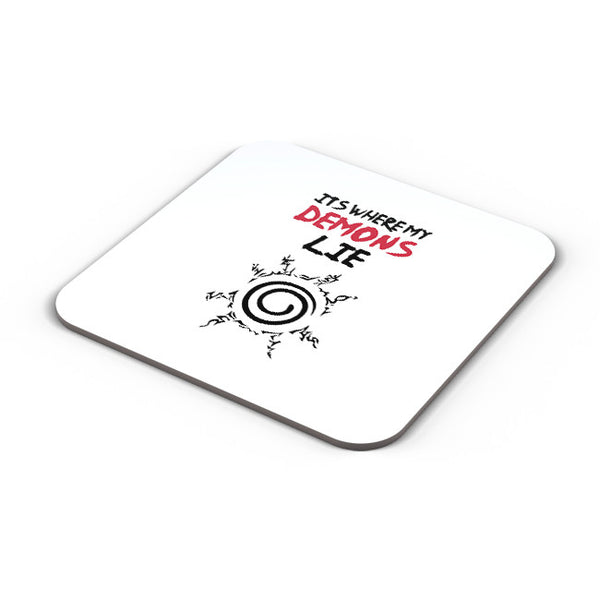 Buy Coasters Online | It'S Where My Demons Lie | Imagine Dragons Coaster Online India | PosterGuy.in