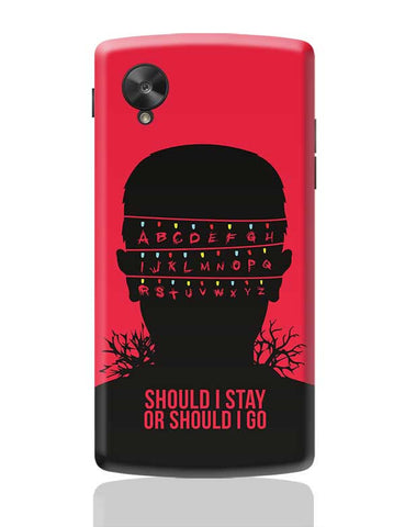 Stranger Things Google Nexus 5 Covers Cases Online India