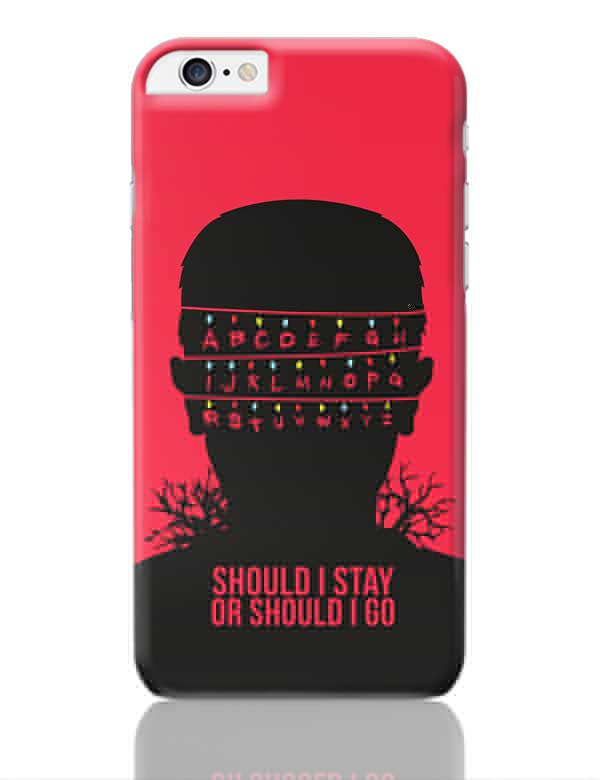 stranger things iphone 6 phone case