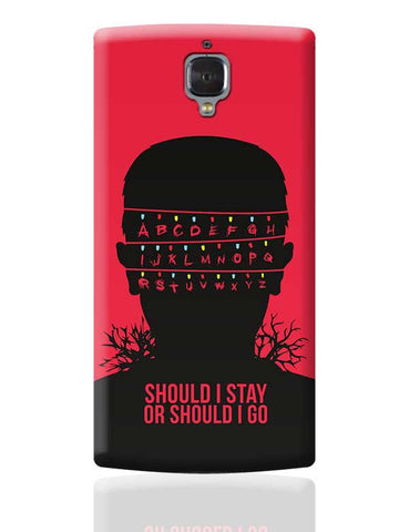 Stranger Things OnePlus 3 Covers Cases Online India