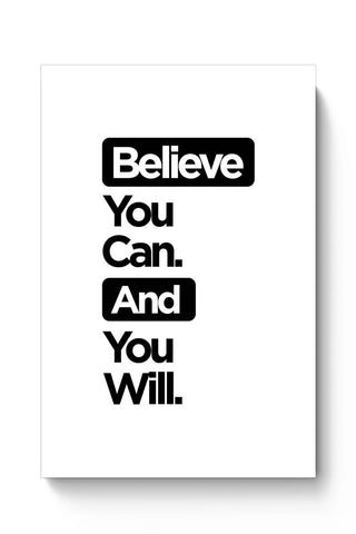 Buy Believe You Can. Poster