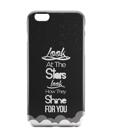 iPhone 6 Case & iPhone 6S Case | Look at the stars Coldplay Yellow Inspired iPhone 6 | iPhone 6S Case Online India | PosterGuy