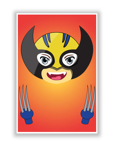 Buy Comic Posters Online | Baby Wolverine Poster | PosterGuy.in