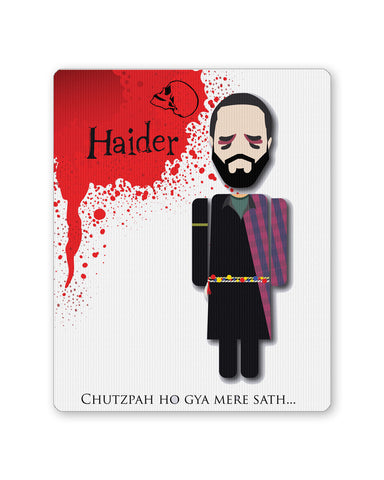 Mouse Pads | Haider Chutzpah Ho Gaya Mere Sath Design Mouse Pad Online India | PosterGuy.in