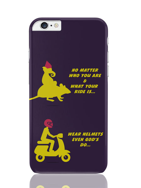 iPhone 6 Plus / 6S Plus Covers & Cases | No Matter What Your Ride Is Wear Helmets iPhone 6 Plus / 6S Plus Covers and Cases Online India
