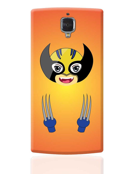 Baby Wolverine OnePlus 3 Cover Online India