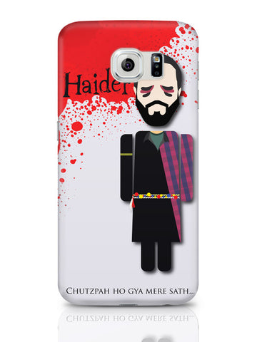 Samsung Galaxy S6 Covers & Cases | Haider Chutzpah Ho Gaya Mere Sath Design Samsung Galaxy S6 Covers & Cases Online India