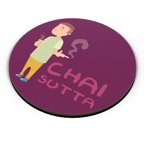PosterGuy | Chai Sutta Fridge Magnet Online India by Ronak Mantri