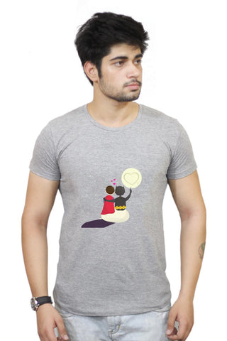Buy Funny Romantic Tale T-Shirts Online India | Funny Romantic Tale T-Shirt | PosterGuy.in