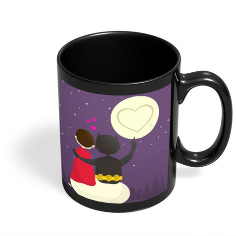 Coffee Mugs Online | Funny Romantic Tale Black Coffee Mug Online India