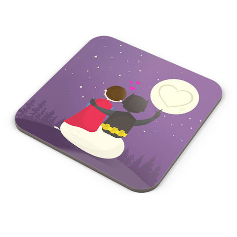 Buy Coasters Online | Funny Romantic Tale Coaster Online India | PosterGuy.in