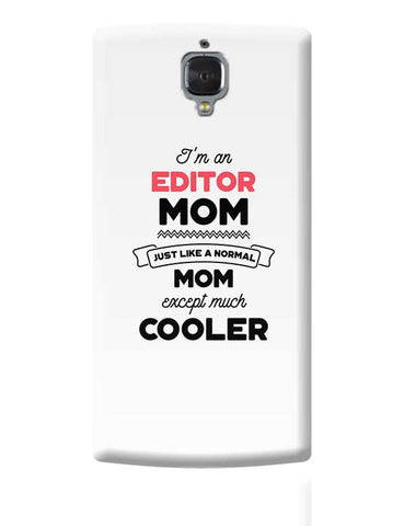 I'm A Network Architect Mom, Just Like A Normal Mom Except Way Cooler | Gift for Network Architect OnePlus 3 Covers Cases Online India