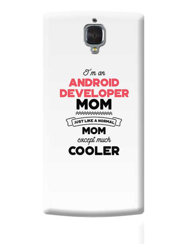 I'm A Security Engineer Mom, Just Like A Normal Mom Except Way Cooler | Gift for Security Engineer OnePlus 3 Covers Cases Online India